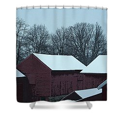Barnscape Shower Curtain