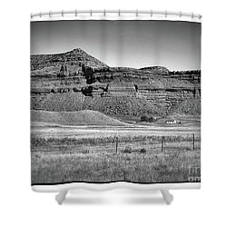 Barnum Hall Shower Curtain