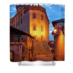 Shower Curtain featuring the photograph Barolo Morning by Brian Jannsen