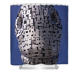 Shower Curtain featuring the photograph Baron's Nose by RKAB Works