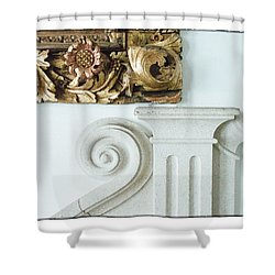 Baroque Shower Curtain by R Thomas Berner