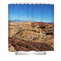 Barren Desert Shower Curtain