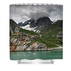 Barren Wilderness Shower Curtain
