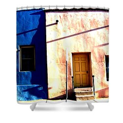 Barrio Viejo 1 Shower Curtain