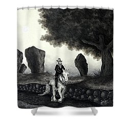 Barry Of Thierna Shower Curtain