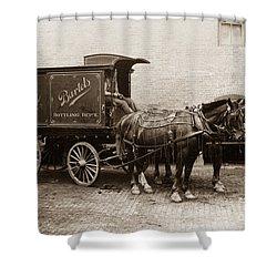 Bartel's Brewery Edwardsville Pennsylvania... Shower Curtain