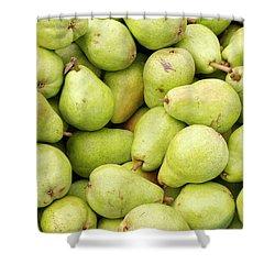 Bartlett Pears Shower Curtain by John Trax