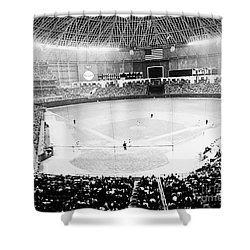 Baseball: Astrodome, 1965 Shower Curtain