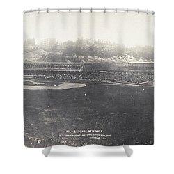 Baseball Game, 1904 Shower Curtain by Granger