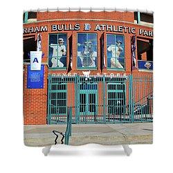 Baseball Stadium Shower Curtain