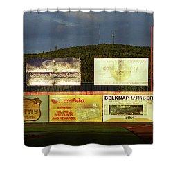 Baseball Sunset 2005 Shower Curtain by Frank Romeo