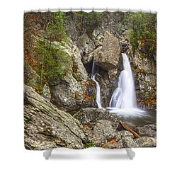 Bash Bish Falls In November 2 Shower Curtain by Angelo Marcialis
