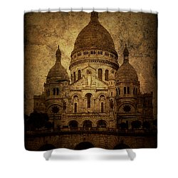 Basilica Shower Curtain by Andrew Paranavitana