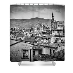 Basilica Di Santa Croce Shower Curtain