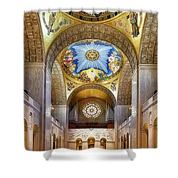 Basilica Of The National Shrine Of The Immaculate Conception - Interior Shower Curtain