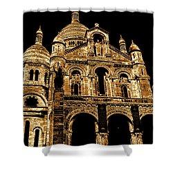 Basilica Of The Sacred Heart Shower Curtain