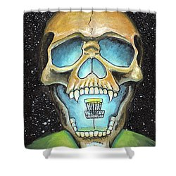 Basket Reaper Shower Curtain