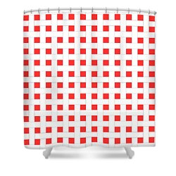 Shower Curtain featuring the digital art Basket Weave With Your Custom Colors by Mark E Tisdale