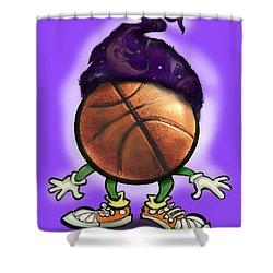 Basketball Wizard Shower Curtain