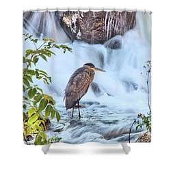 Bass Fishing Shower Curtain