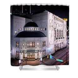 Bass Hall Resplendence Shower Curtain