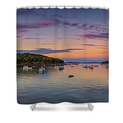 Bass Harbor Shower Curtain