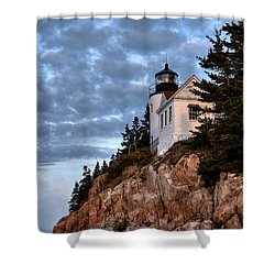 Bass Harbor Light No. 2 - Acadia - Maine Shower Curtain