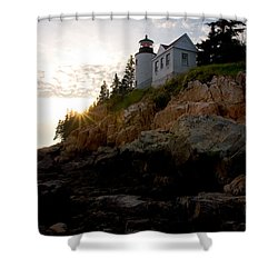 Bass Harbor Lighthouse 1 Shower Curtain by Brent L Ander