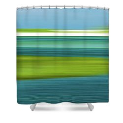 Bass Hole Shower Curtain