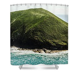 Shower Curtain featuring the photograph Bass Strait Island Wilderness by Jorgo Photography - Wall Art Gallery