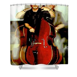 Bassman Shower Curtain