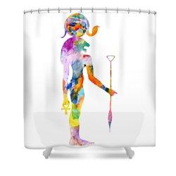 Bastet- God Of Ancient Egypt Shower Curtain