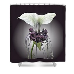 Bat Plant Shower Curtain