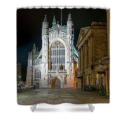 Bath Abbey Shower Curtain