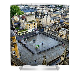 Bath Square Shower Curtain