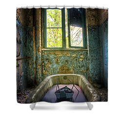 Shower Curtain featuring the digital art Bath Toy by Nathan Wright