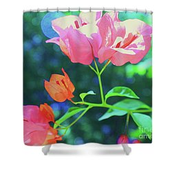 Bathed In Sunlight Shower Curtain