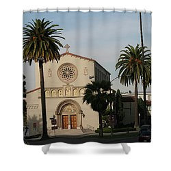Bathing In Glory Shower Curtain