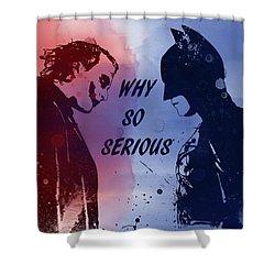 Batman And Joker Shower Curtain
