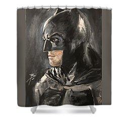 Batman - Ben Affleck Shower Curtain