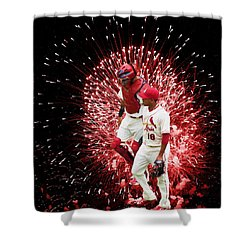 Battery Mates Shower Curtain
