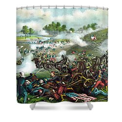 Battle Of Bull Run Shower Curtain