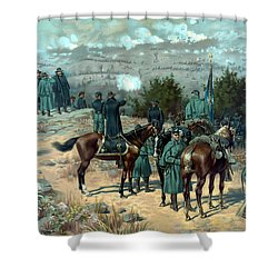 Battle Of Chattanooga Shower Curtain by War Is Hell Store