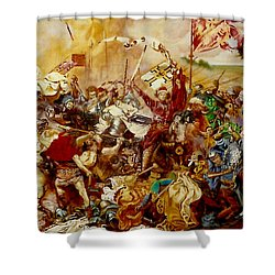 Battle Of Grunwald Shower Curtain
