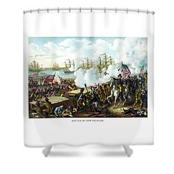 Battle Of New Orleans Shower Curtain by War Is Hell Store