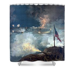 Battle Of Port Hudson Shower Curtain by War Is Hell Store