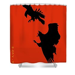 Battle Of The Eagles Shower Curtain