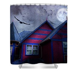Battle Street West Shower Curtain by Theresa Tahara