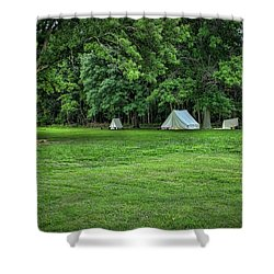 Battlefield Camp 2 Shower Curtain
