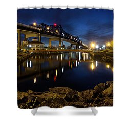 Battleship Cove, Fall River, Ma Shower Curtain
